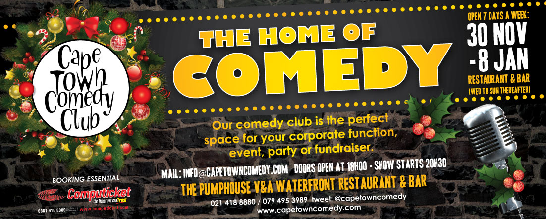 What's On - Cape Town Comedy ClubCape Town Comedy Club